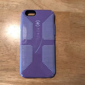 Accessories - Purple speck iPhone 6/6s case